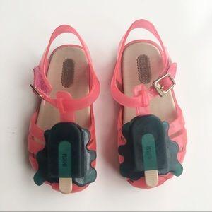 Mini Melissa Popsicle shoes size 8